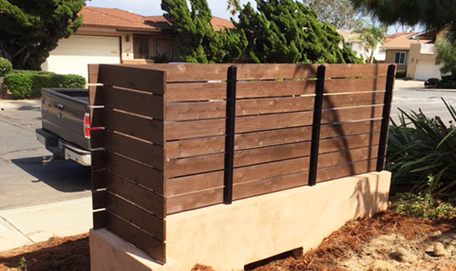 High Quality Wood Fence Installation