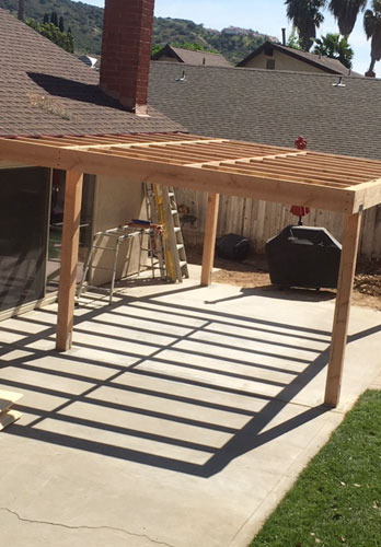 Custom Build Trellis Patio Covers Shurlock Fence Built And Installed This Wooden