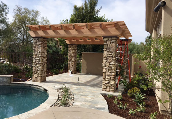 Superieur Free Standing Trellis Patio Cover