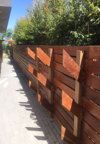 IPE Privacy Fencing Installation