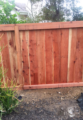 Private Outdoor Fence Installation