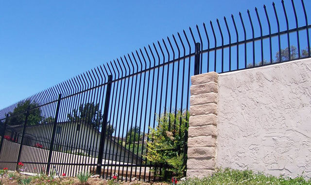 Wrought Iron Fence Installation San Diego