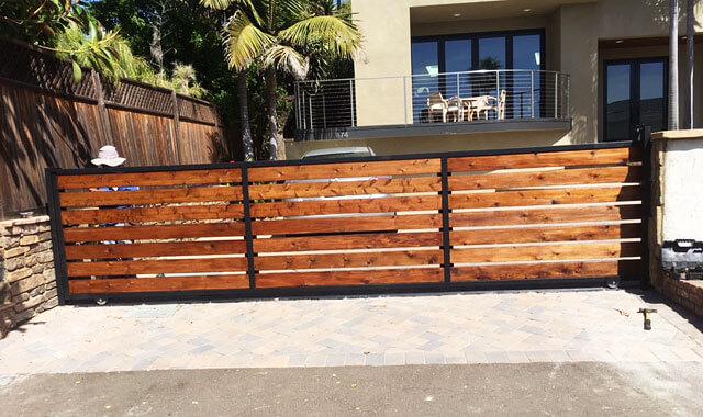 Custom Wood Fencing Amp Gates San Diego Ca Exotic Woods