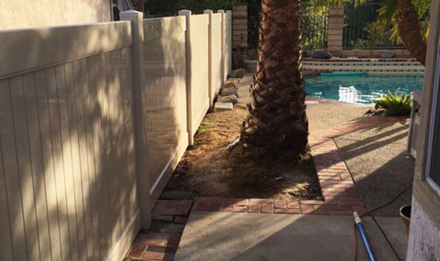 High Quality Vinyl Privacy Fence