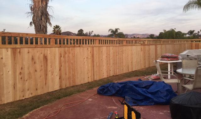 Wood Fencing San Diego Ca Wood Fence Gate Arbor