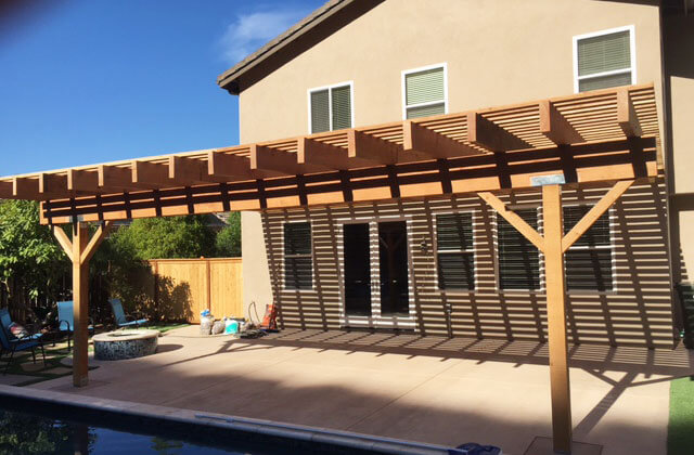 Wooden Patio Covers Contractor ...