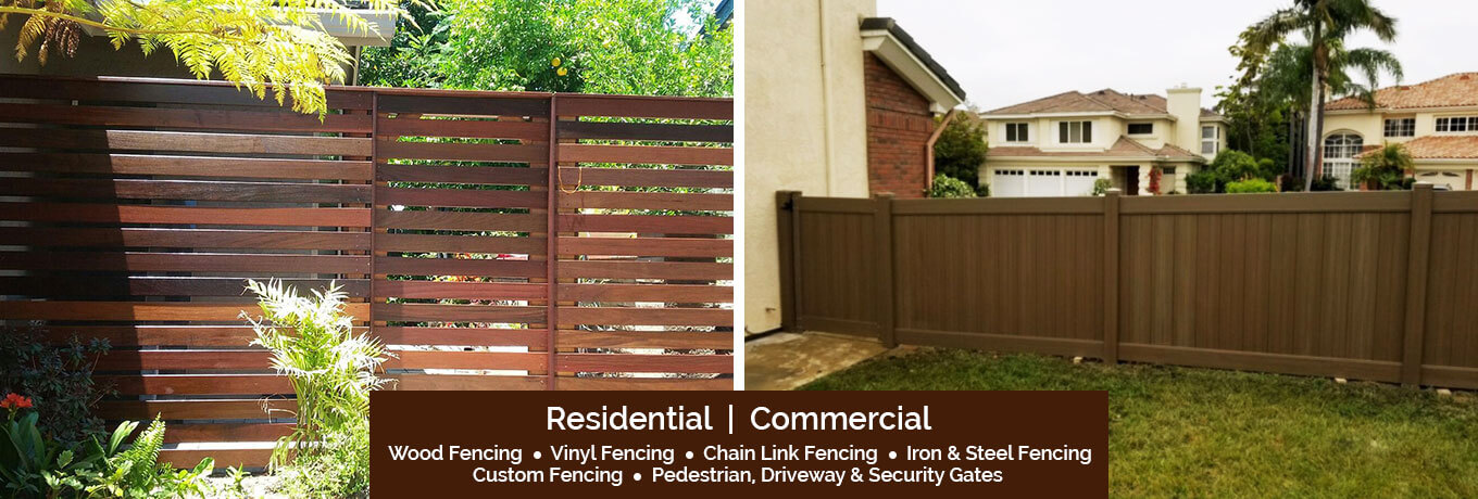 Wood Fencing San Diego Ca Wood Vinyl Chain Link Fence